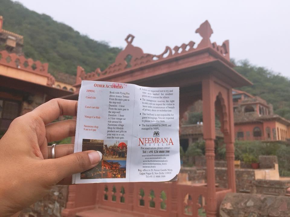 Neemrana Fort Jaipur